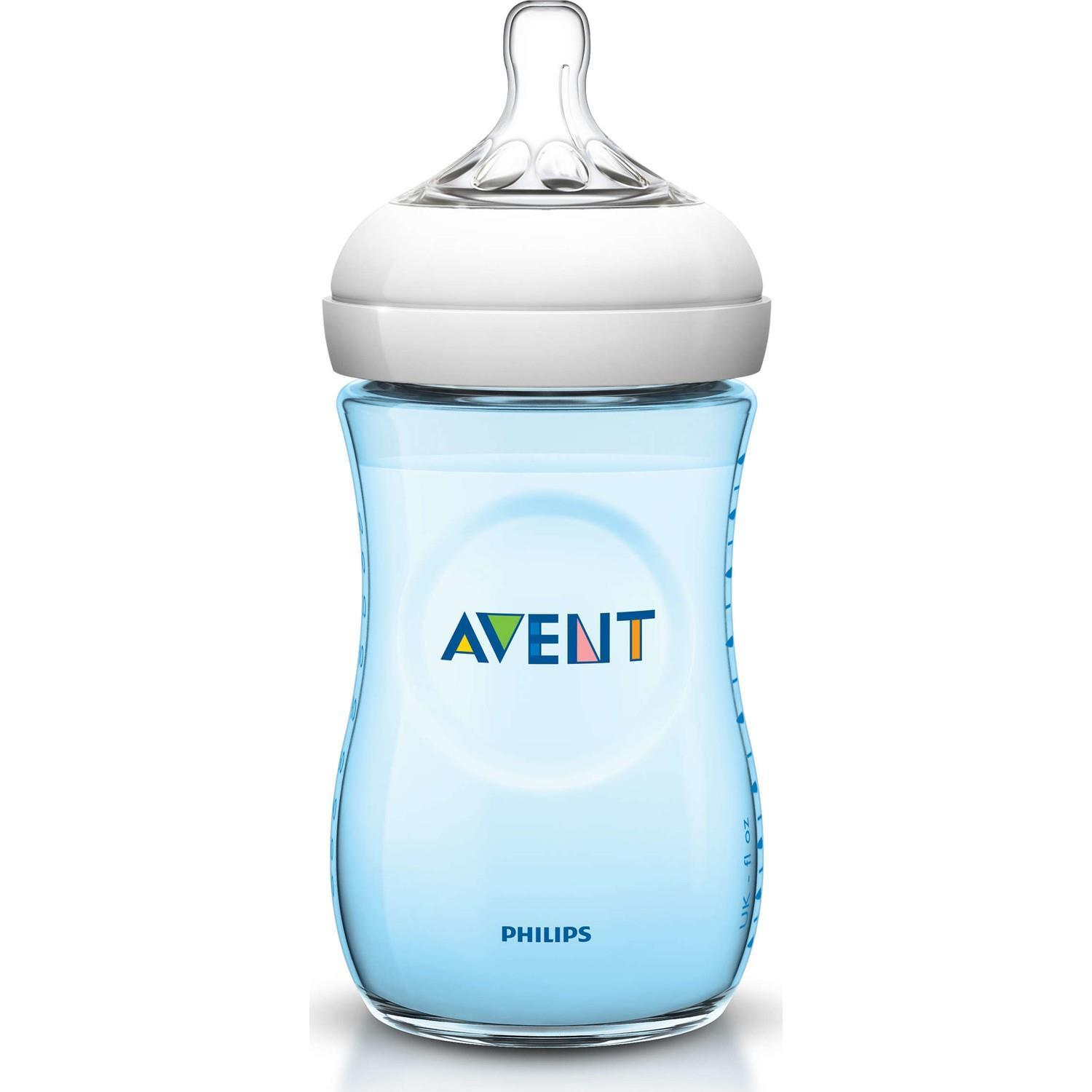 Philips Avent Natural Pp Biberon 260 Ml Mavi 53189 - Philips Avent Natural Pp Biberon 260 Ml Mavi
