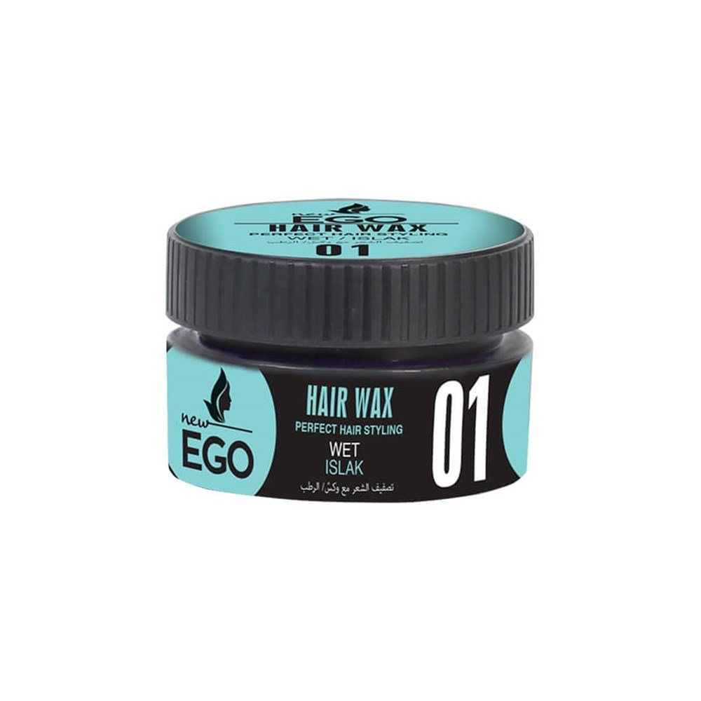 New City Ego Hair Wax Islak 150 Ml 10516 - New City Ego Hair Wax Islak 150 Ml